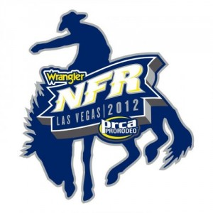 2012 Wrangler National Finals Rodeo logo