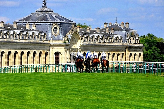 Chantilly racecourse by Guillaume Cattiaux