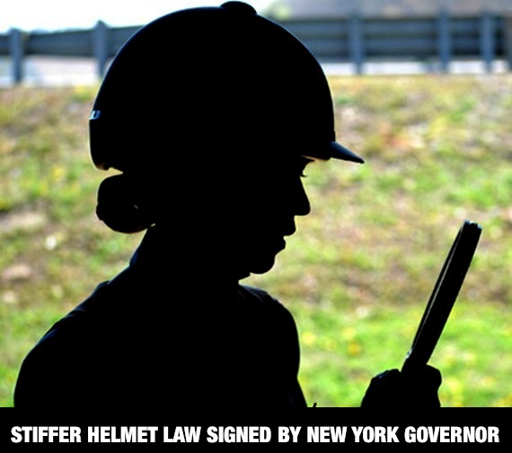 New York equestrian helmet law