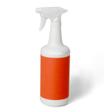 Spray bottle for coat polish, fly spray, etc.