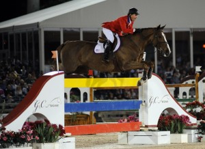 McLain Ward and Sapphire had one of only two double-clears in the Nations' Cup.