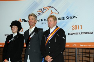 Jessica Springsteen, Richard Spooner and Nick Skelton