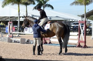 McLain Ward and Samantha Ramsay