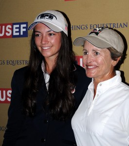Reed Kessler and Margie Engle shared top honors in the USEF's national show jumping championship