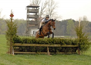 Rider on Classic event steeplechase phase