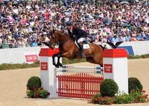 William Fox-Pitt on Parklane Hawk