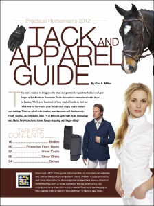 Practical Horseman's 2012 Tack &amp; Apparel Guide