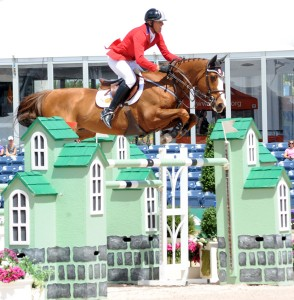 Rich Fellers and Flexible are number one for the Olympic show jumping team