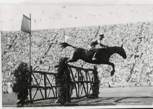 Capt. John Wofford at the 1932 Olympics