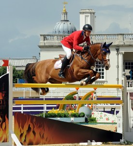 Rich Fellers and Flexible turned in the only double-clear for the U.S. team at the Olympics