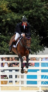 Great Britain's Nick Skelton helped win a gold medal for his team with Big Star and is the favorite for the individual gold (photo copyright 2012 by Nancy Jaffer)