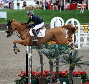 Canadas Jill Henselwood on George, runner-up in the $1 million grand prix