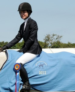 Amateur-Owner Jumper Champion Lauren Ward had always wanted a pale blue Hampton Classic cooler