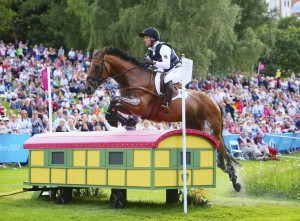 Michael Jung and Sam at the 2012 Olympic Games in London