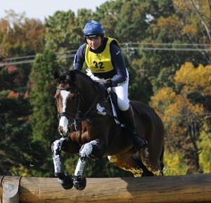 Clayton Fredericks, who rides for Australia, rode Pigrela Des Cabanes to second place in the 2-star
