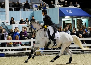 The Dressage at Devon Grand Prix Freestyle went to Canada's Jacqueline Brooks and D-Niro