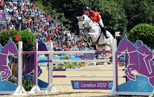 McLain Ward made three Olympic teams and won two gold medals with the help of his late father, Barney Ward