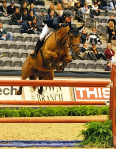 Abigail McCardle, winner of the $50,000 Junior/Amateur-Owner competition with Cosma 20