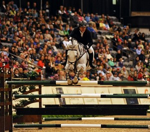 $250,000 Alltech Grand Prix winner McLain Ward and Antares at the National Horse Show