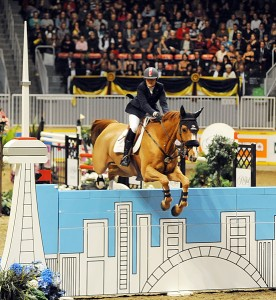 "Jill Henselwood wound up as Leading Canadian Rider after taking the $100,000 ""Hickstead"" FEI World Cup Grand Prix with George, the Leading Canadian Horse of the Royal"