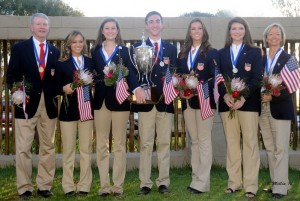 The U.S. Five-Gaited Section Gold medalists 