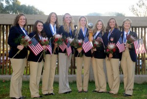 The U.S. Three-Gaited Section Gold medalists