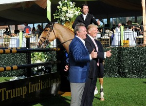 It's a thumbs-up for the first Trump Invitational from Kent Farrington, Mark Bellissimo and Donald Trump