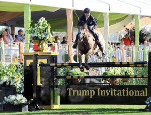 Kent Farrington won the $100,000 Trump Invitational on Dynamo